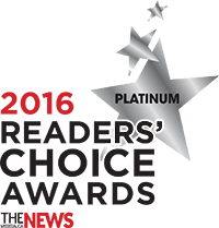 2016 readers' choice awards platinum