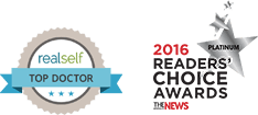 RealSelf 500 215 and 2016 Readers' Choice Awards