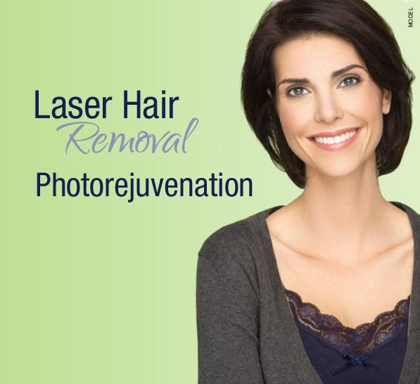 model for photo rejuvenation
